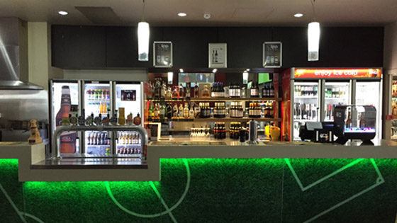 ACE Catering Equipment Bar Fitout Project
